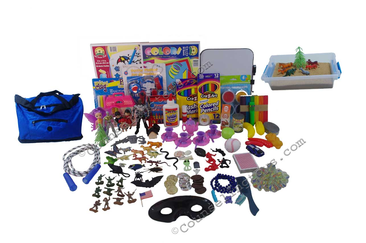 Portable Sand and Play Therapy Kit