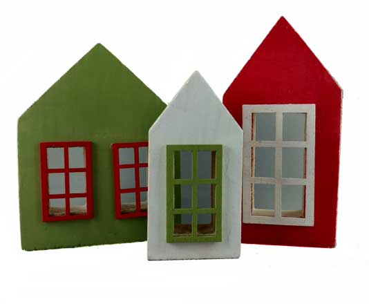Wooden Houses - Cottages Set